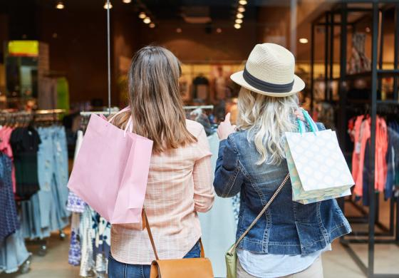 Arredamento per negozi di moda, stile ovunque