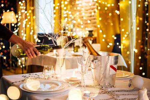 Arredamento ristorante Natale